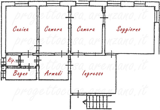 Casa Arenzano via Bocca